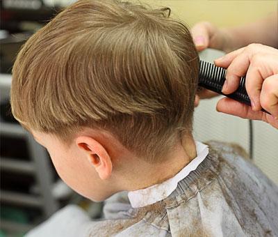Hårklipp barn frisør