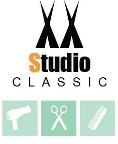 Logo frisør Studio Classic Jar i Bærum