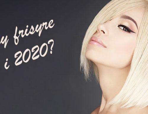Hårfrisyrer 2020