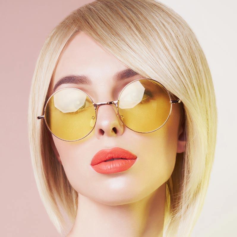 Bob frisyre modell studio classic fashion