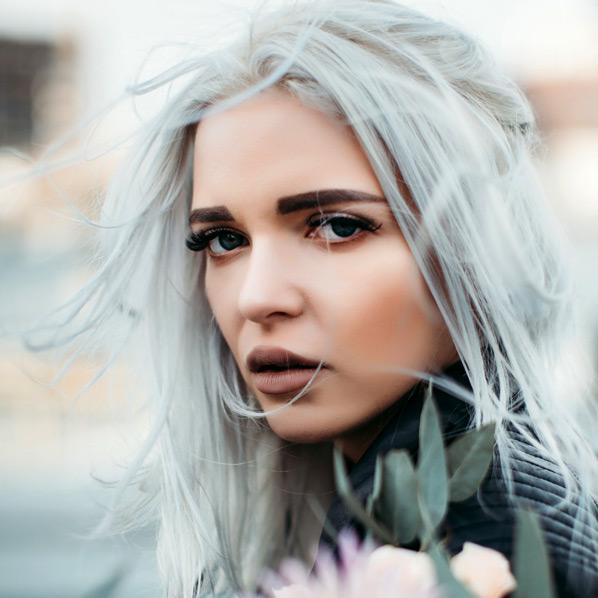 Grått hår modell Studio classic