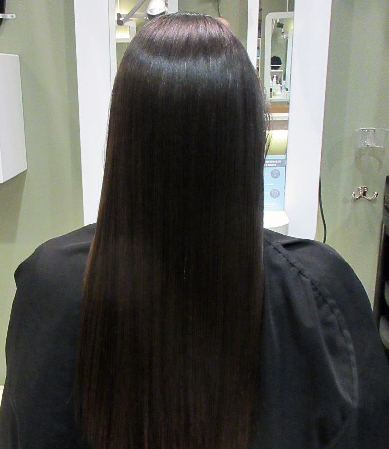 keratin hos frisør