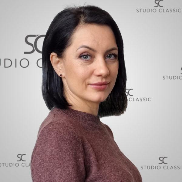 Larisa frisør hos Studio Classic