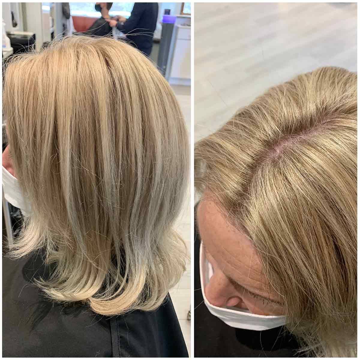Larisa frisør blonde hår